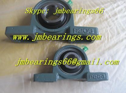UCP214 pillow block ball bearing 70x74.6x274mm