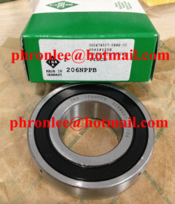 206-NPP-B Self-aligning Deep Groove Ball Bearing 30x62x16mm