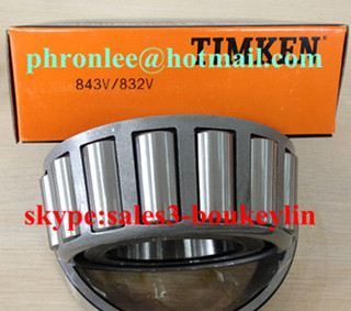 758/752D tapered roller bearing 85.725x161.925x85.725mm