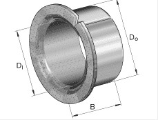 EGF08075-E40 plain bearings 8x10x7.5mm