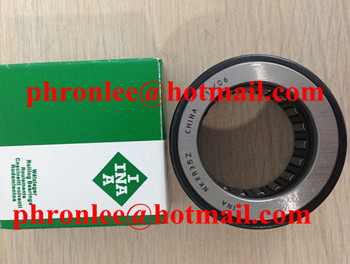 NKXR15 Needle Roller/Axial Cylindrical Roller Bearing 15x24x23mm