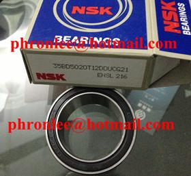 40BGS8G-2DLS Angular Contact Ball Bearing 40x62x20.6mm