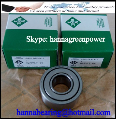 NATR 6 Yoke Track Roller Bearing 6x19x12mm