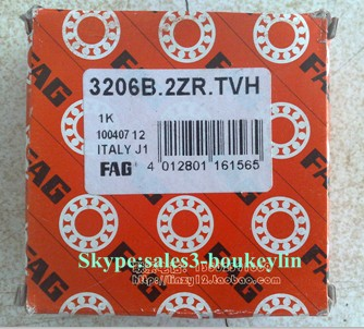 3205-BD-TVH Angular Contact Ball Bearing 25x52x20.6mm