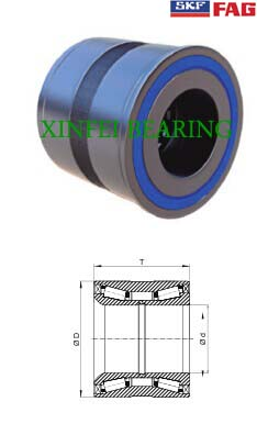BTH0025 hub wheel truck bearing