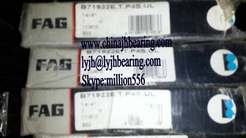 B71922-E-T-P4S-UL bearing 110x150x20 mm