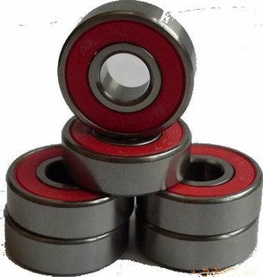 608 2RS deep groove ball bearings 8x22x7mm