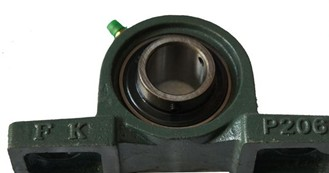 UCCP211C pillow bock bearing 55x63.5x219mm