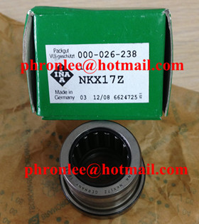 NKX12 Needle Roller/Axial Ball Bearing 12x21x23mm