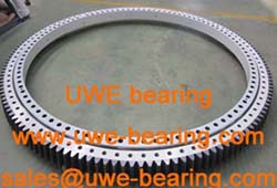014.75.4000 external teeth UWE slewing bearing