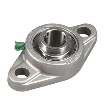 SUCFL307 Stainless Steel Flange Units 35 mm Mounted Ball Bearings