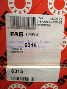 FAG 6315 Bearings