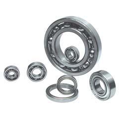 6010-2RS deep groove ball bearings 50x80x16mm
