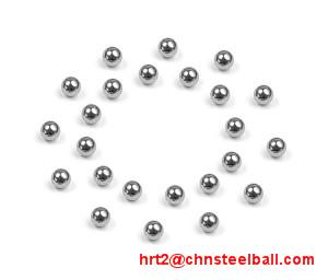 2.381mm Miniature Steel Balls (chrome steel, AISI52100, SUJ-2, 100Cr6)