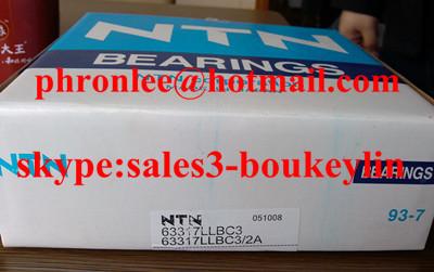 63317LLBC3 deep groove ball bearing 85x180x73mm