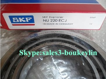 NU 220 ECJ Cylindrical Roller Bearings 100x180x34mm