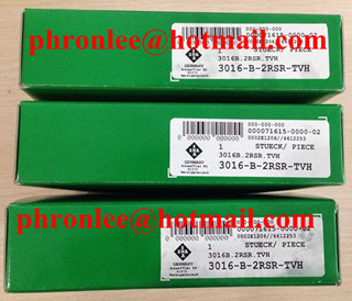 3011-B-2RSR-TVH Angular Contact Ball Bearing 55x90x26mm