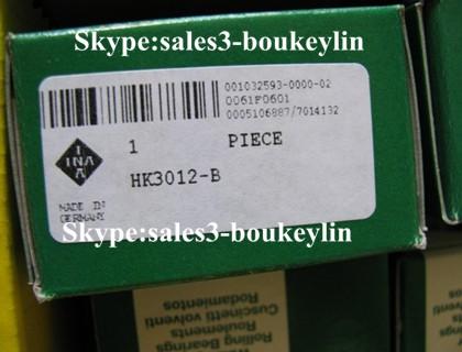 HK3012 Drawn Cup Needle Roller Bearing 30x37x12mm