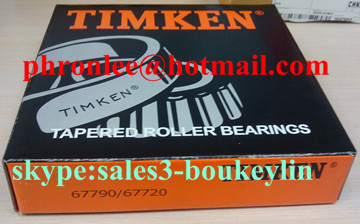67388/67322D tapered roller bearing 127.000x196.850x85.725mm