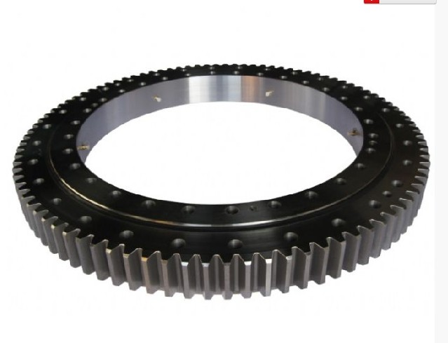 MTE-590T Four-point Contact Ball Slewing Bearing 587.375x851.7637x73.025mm
