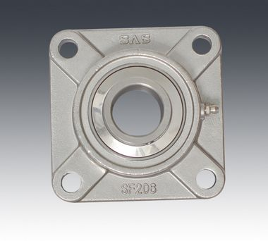 SUCF217 Stainless Steel Flange Units 85 mm Mounted Ball Bearings