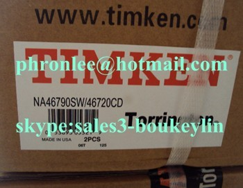 NA46790SW/46720D tapered roller bearing 165.100x225.425x95.250mm