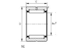 NK65/35 Bearing 65x78x35mm