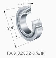 32052X+T4FC260 bearing 260x400x87