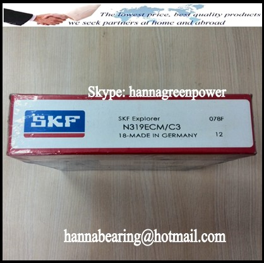 N319ECM/C3 Cylindrical Roller Bearing 95x200x45mm