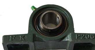 UC206 pillow bock ball bearing 30x62x38.1mm