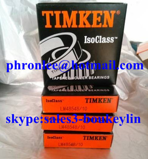 LM48548/LM48510 Tapered Roller Bearing 34.925x65.088x18.034mm
