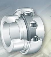 GRAE30-NPP-B Radial insert ball bearings 30x62x35.8mm