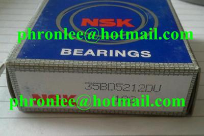 35BD5222DU Angular Contact Ball Bearing 35x52x22mm