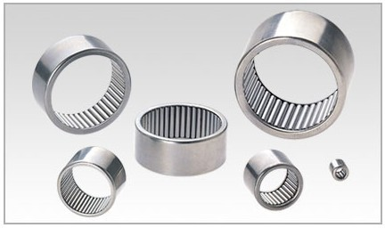 F-1712 Drawn cup full complement needle roller bearings 17x23x12mm