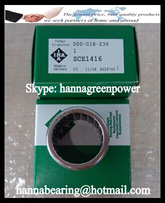 SCE2216 Open End Needle Roller Bearing 34.925x41.275x25.4mm
