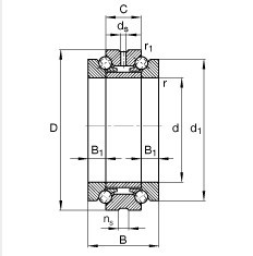 bearings 234728-M-SP