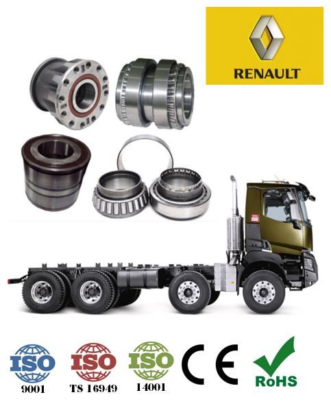 (60×168×102mm) RENAULT TRUCKS 201042 HUR056 VKBA 5407 Midlum wheel hub bearings