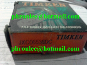 JXC06536DC Tapered Roller Bearing 21.987x45x16.637mm