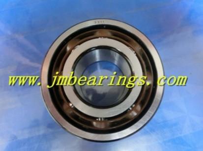 3311 angular contact ball bearing 55×120×49.2mm