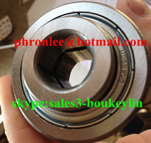 CB207DDH Hex Bore Agricultural Bearing 27.559x78.05x27.8mm