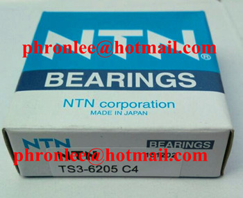 TS3-6205 Deep Groove Ball Bearing for High Temperature 25x52x15mm