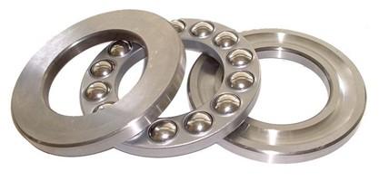 51172MP Thrust Ball Bearings 360x440x65mm