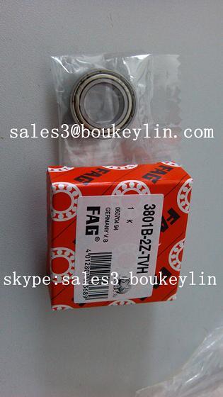 3801-B-2Z-TVH angular contact ball bearing 12x21x7mm