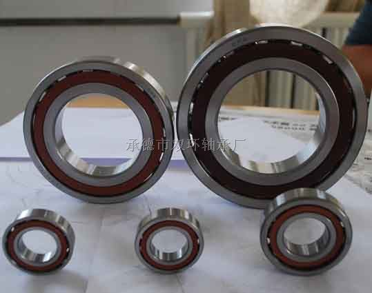 QJ307 Four point contact ball bearing QJ series