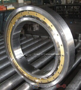 N 314 ECP Open Single-Row Cylindrical Roller Bearing 70*150*35mm