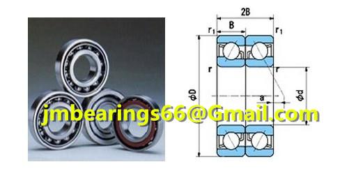 7200BDBangular contact ball bearings 10x30x9MM