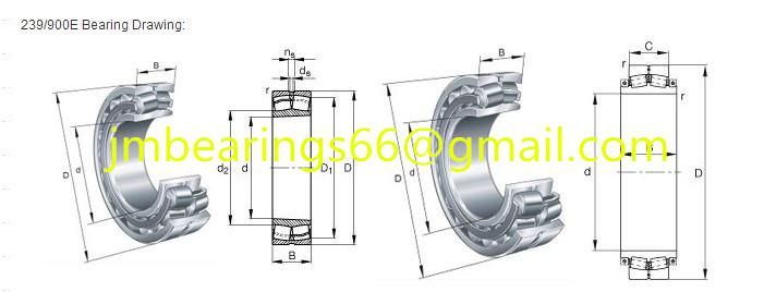 239/900E Spherical Roller Bearings 900x1180x206mm