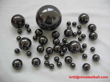 4.7625mm ceramic balls (zirconia, black)