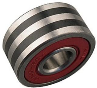 EC6302-17-2RS Automobile Alternator Bearing 17x42x13mm