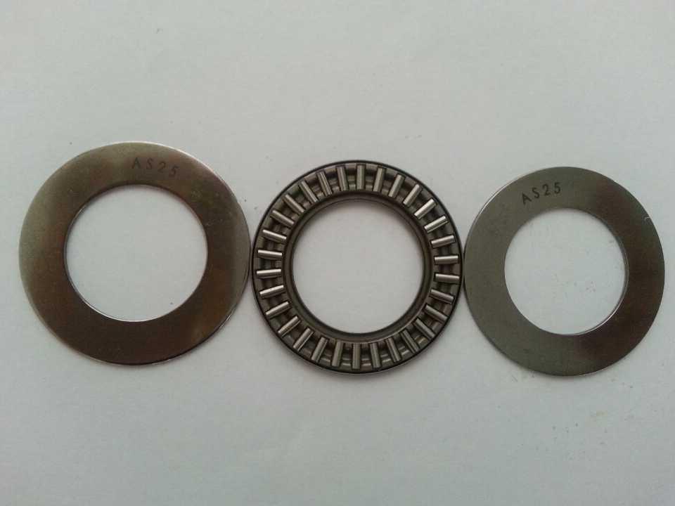 AXK 1024 Thrust needle roller bearings 10X24X2mm